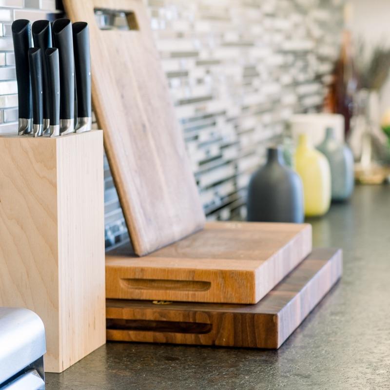 Organized Kitchen Counter